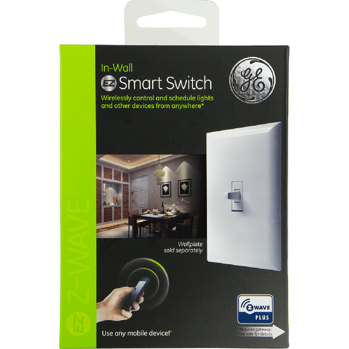 Ge Z Wave Plus In Wall Smart Switch