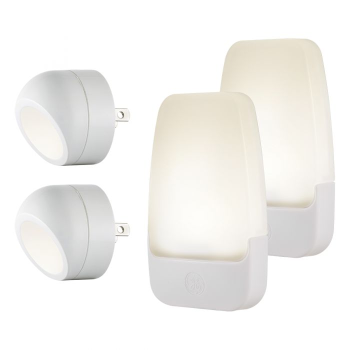 Ge Automatic Led Night Lights White 4 Pack