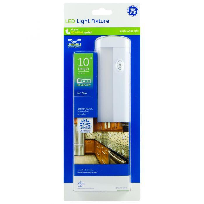 Led Under Cabinet Light Fixture White, Ge Led Under Cabinet Lighting