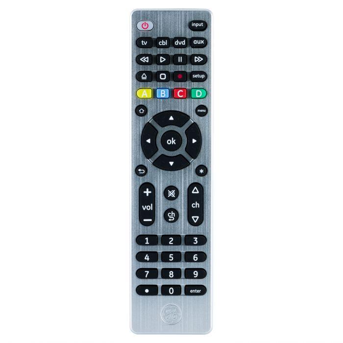 GE Ultra Pro Universal Remote Control 4 Device  33709