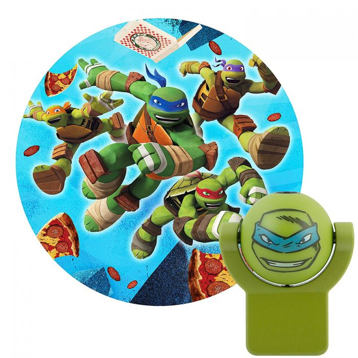 Projectables Nickelodeon Teenage Mutant Ninja Turtles Light Sensing Led Night Light
