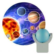 Projectables Solar System Light Sensing LED Night Light