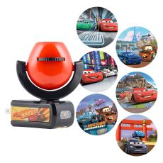 Projectables Disney Pixar Cars Light Sensing 6-Image LED Night Light