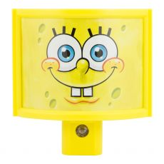 Nickelodeon SpongeBob Squarepants Wrap Shade Automatic LED Night Light, Yellow