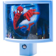 Marvel Ultimate Spider-Man Wrap Shade Light Sensing LED Night Light, Blue