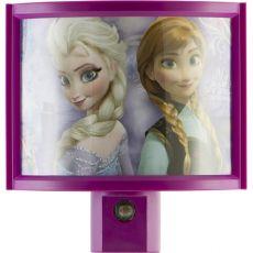 Disney Frozen Anna & Elsa Light Sensing LED Night Light, Pink