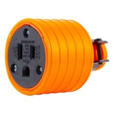 GE Grounding Heavy Duty Connector, Orange