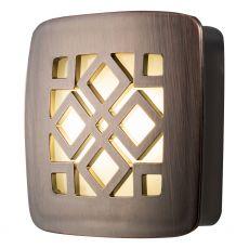 GE CoverLite Decorative Automatic LED Night Light, Oil-Rubbed Bronze
