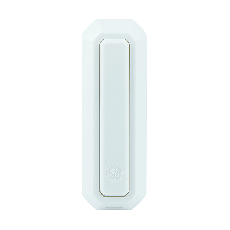 GE Direct Wire Push Button, White