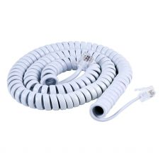 Power Gear 12 ft. Coiled Handset Cord