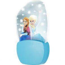 Disney Frozen Anna & Elsa 3D Motion Effect LED Night Light, Blue