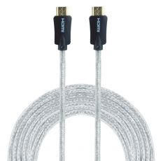 GE Pro Premium 10 ft. HDMI Cable with Ethernet, Gray