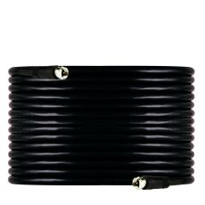 GE 50ft. RG6 Coaxial Cable with F-type Connectors, Black