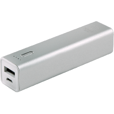 Power Gear 1-USB Charging Battery Pack, 3300mAh, Gray