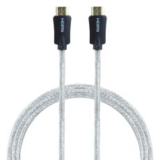 GE Pro Premium 3 ft. HDMI Cable with Ethernet, Black