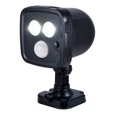 Power Gear Wireless Motion Sensing Security LED Spotlight, Black