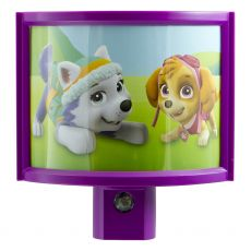 Nickelodeon Paw Patrol Wrap Shade Automatic LED Night Light, Purple