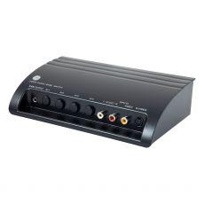 GE Pro 4-Device Audio/Video Switch with S-Video, Black