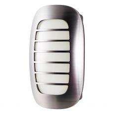 Energizer Plug-In Light Sensing LED Night Light, Brushed Nickel