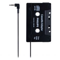 Philips Universal Cassette Adapter, 3.5mm Audio Jack