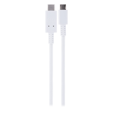 GE 3.3 ft. USB-C Charging Cable, White
