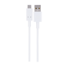 GE 6.5 ft. USB-C Charging Cable, White