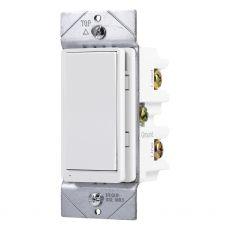 GE myTouchSmart In-Wall WiFi Smart Dimmer, White