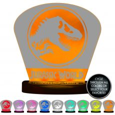 Jurassic World Color-Changing Tabletop LED Night Light