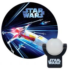 Projectables Star Wars X-Wing Plug-In Light Sensing LED Night Light