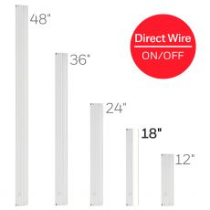 Honeywell 18in. On/Off Direct Wire LED Light Fixture