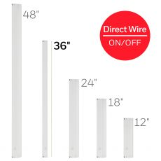 Honeywell 36in. On/Off Direct Wire LED Light Fixture