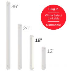 Honeywell 18 in. Linkable Plug-In LED Color Select Light Fixture