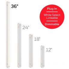 Honeywell 36 in. Linkable Plug-In LED Color Select Light Fixture