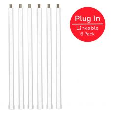 Honeywell 10in. Linkable LED Bright Strips, 6 Pack