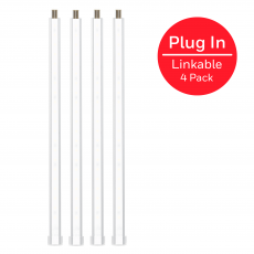 Honeywell 10in. Linkable LED Bright Strips, 4 Pack