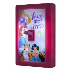 Disney Princess LED Light Switch, Pink