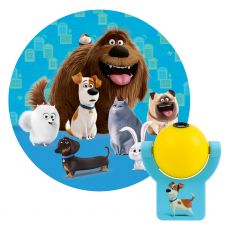 Projectables Secret Life of Pets 2 Light Sensing LED Night Light