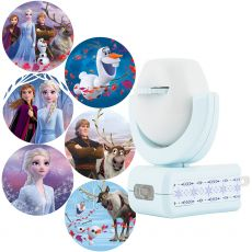 Projectables Disney Frozen 2 Plug-In Light Sensing 6-Image LED Night Light