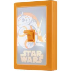 Star Wars BB-8 Battery Operated LED Light Switch, Gold