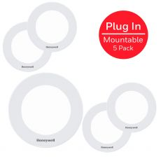 Honeywell Linkable Recessed LED Puck Lights, 5 Pack, White