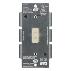 Z-Wave In-Wall Smart Switch Toggle, Light Almond