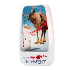 Disney Frozen II Light Sensing LED Night Light, White