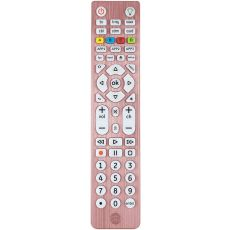 GE 6-Device Backlit Universal Remote, Brushed Rose Gold
