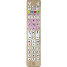 GE 6-Device Backlit Universal Remote, Brushed Gold