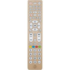 GE 8-Device Backlit Universal Remote, Brushed Gold