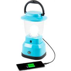 Enbrighten LED 6D USBCharging Lantern, Teal