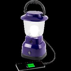 Enbrighten LED 6D USB-Charging Lantern, Purple