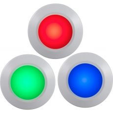 Energizer Battery Operated Color-Changing Dimmable LED Puck Light with Remote, 3 Pack, White