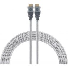 GE 8ft. 8K HDMI Cable with Ethernet, Silver