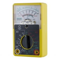 Power Gear 14-Range Analog Multimeter, Yellow